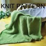 Knit Pattern - Baby Blanket ..
