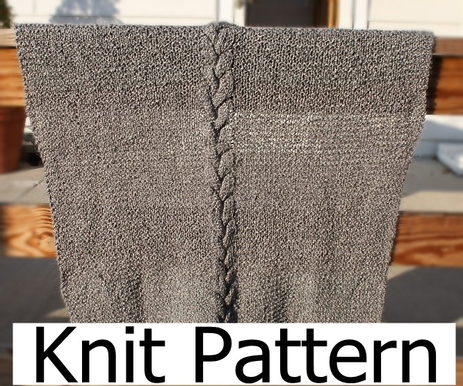 Easy Cable Knit Blanket Pattern : Knit Pattern - Baby Blanket Pattern - Easy Warm Cable on Luulla